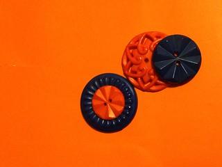 MM...orange and blue