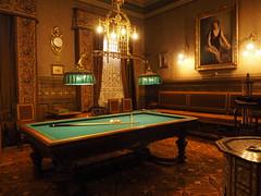 Billiards anyone? (LeftCoastKenny) Tags: chile patagonia day16 puntaarenas museoregionaldemagallanescentroculturalbraunmenéndez gameroom