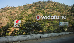IMG_9072 (Manveer Jarosz) Tags: bharat hindustan hollywoodsign india rajasthan vodafone advertisements advertising billboard clever driving giant highway hill logo marketing mountain ride road sign