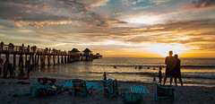 Saying goodbye to the afternoon in Naples Beach, Fl. © ® (The Sergeant AGS (A city guy)) Tags: naples naplesbeachfl afternoon people colors walking waterways walkingaround urban unitedstates outdoors seashore seascape sunset beachscape beach