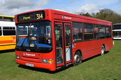 LV52 HGC (markkirk85) Tags: south east bus festival buses dennis dart slf alexander mini pointer stagecoach london new selkent 122002 dss366 lv52 hgc lv52hgc 34366