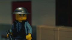 Lego WWII Chinese KMT Soldier (Force Movies Productions) Tags: lego blue toy toys war wwii world weapons wars ii helmet brickarms bricks brickmania brickfilm brickizimo screenshot guns gear gimp second sinojapanese chinese china soldier trooper troops helmets history photograpgh photo conflict picture photograph pose promo kmt kuomintang animation asian asia army deleted scene frame firearms film gun custom nationalist nation minfig military minifig minifigure minifigs movie moc