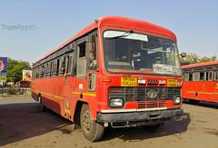 Daryapur - Chandrapur (yogeshyp) Tags: msrtc maharashtrastatetransport msrtcparivartanbus daryapurdepotbus daryapurchandrapurstbus