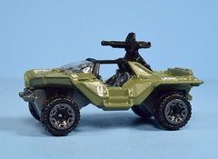 Hot Wheels Halo UNSC Warthog (FranMoff) Tags: green military hotwheels halo cars diecast vehicles unsc warthog
