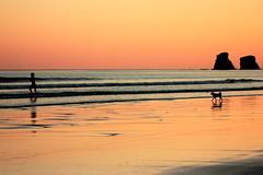 this morning! (florenarocena) Tags: amanecer hendaye down beach plage ondartza spiaggia strand