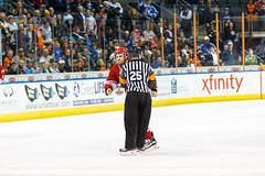 "Missouri Mavericks vs. Allen Americans, March 3, 2017, Silverstein Eye Centers Arena, Independence, Missouri.  Photo: John Howe / Howe Creative Photography • <a style=""font-size:0.8em;"" href=""http://www.flickr.com/photos/134016632@N02/33117919492/"" target=""_blank"">View on Flickr</a>"