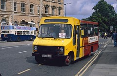 D162 RAK: Bileckyj t/a Bus Force, Dringhouses (chucklebuster) Tags: d162rak bileckyj bus force south yorkshire transport little nipper midland fox dodge s56 reeve burgess york