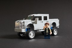 Custom Pickup Truck (sponki25) Tags: lego pickup truck hd heavy duty lift kit custom sema show