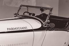 Classic Bugatti Roadster (Thad Zajdowicz) Tags: zajdowicz losangeles california petersenautomotivemuseum availablelight indoor inside museum canon eos 5dmarkiii 5d3 dslr digital lightroom ef50mmf12lusm 50mm primelens bugatti roadster car automobile classic vintage style blackandwhite monochrome black white bw
