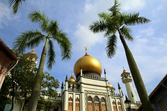 Sultan Mosque in Kampong Glam district, Singapore (Frans.Sellies) Tags: img1341 mosque moskee moschee singapore