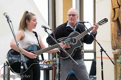 'POPPY AND FRIEND' (tonyfletcher) Tags: musicport musicportwhitby openmic whitbypavilion whitby livemusic acousticmusic acoustic guitar