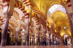 Interior Mezquita Córdoba. (anamoral) Tags: andalucía andalucia mezquita cordoba córdoba catedra arco arcos interior arquitectura catedral religión al andalus españa spain sur