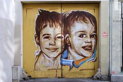 by ?? (Ruepestre) Tags: art streetart street graffiti graffitis graffitiparis graffitifrance paris france urbain urbanexploration urban mur ville rue