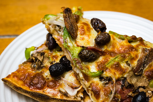 Meat supreme with anchovies
