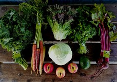Suzie's CSA box, Week of Mar. 13 - 19