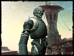 K-2SO from Rogue One (hekirekika2017) Tags: secondlife meshavatar starwars droid empire k2so rogueone