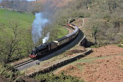 Lunch time (mike_j's photos) Tags: northyorkshiremoors railway steam black5 5mt 44806 darnholme