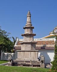 Wat Ratcha Orasaram Chinese Style Pagoda (DTHB0560)