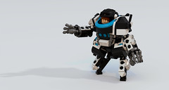 Imp Hardsuit (Garry_rocks) Tags: lego mecha hardsuit