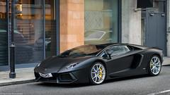 Matt Black (Harm-Jan Rouwendal) Tags: lamborghini aventador lp7004 roadster matt black supercar nikon 50mm harmjan rouwendal united kingdom london