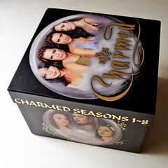 Charmed Complete Series DVD Box Set, starring Shannen Doherty as Prue Halliwell, Holly Marie Combs as Piper Halliwell, Alyssa Milano as Phoebe Halliwell, Rose McGowan as Paige Matthews-Halliwell, Kaley Cuoco as Billie Jenkins, Brian Krause as Leo Wyatt, D (karimenavas1) Tags: charmed completeseriesdvdboxset shannendohertyaspruehalliwell hollymariecombsaspiperhalliwell alyssamilanoasphoebehalliwell rosemcgowanaspaigematthewshalliwell kaleycuocoasbilliejenkins briankrauseasleowyatt doriangregoryasdarrylmorris tedkingasandytrudeau julianmcmahonascoleturnerbelthazor drewfulleraschrishalliwell dvdbashwordpresscom