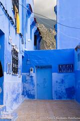 Moutains overlooking Chefchaouen Medina (adventurousness) Tags: bluecity chefchaouenthebluepearl thebluecity blue chaouen chefchaouen morocco mountains travel medina
