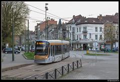 STIB 3048 - Eeuwfeest (Spoorpunt.nl) Tags: 1 april 2017 stib mivb brussel cityrunner 3048 flexity outlook bombardier jan sobieskilaan eeuwfeest