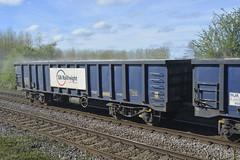 Open box bogie MJA 502016 (parkgateparker) Tags: northanston syjnt southyorkshirejoint mja 502016 openboxbogie wagon gbrf gypsum