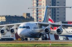 EI-RJO - CityJet Avro RJ85 (Aleem Yousaf) Tags: eirjo cityjet avro rj85 london city airport plane spotting avgeek east lcy eglc nikon d800 300mm prime aviation aviationphoto outdoor airliner jet