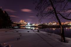 At Boat Sight : March 16, 2017 (jpeltzer) Tags: boatsight publicart ottawariver ottawa gatineau night winter