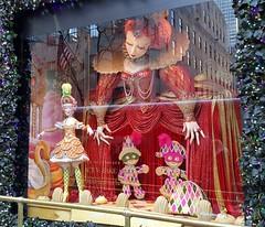 NYC- Fifth Avenue Xmas Window Displays @ Saks (Wanderlust Dreamer) Tags: manhattannyc newyorkstate newyorkcitynys midtownmanhattan midtownnyc
