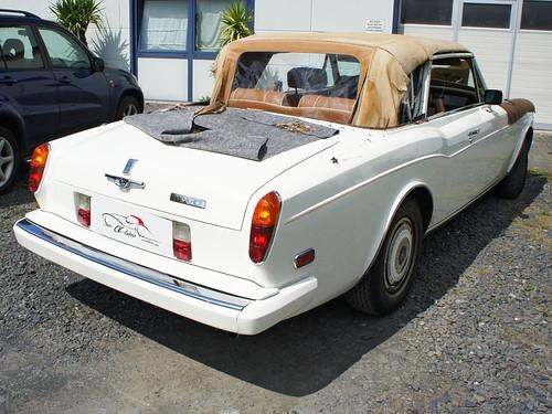 Rolls-Royce Corniche II Convertible Top Assembly