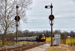Let's Imagine (Wheelnrail) Tags: csx indiana sub train trains locomotive j780 railroad rail road local cpl signal bo