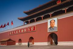 Hi Mao! (Benson Kua) Tags: dsc01171 maozedong mao china beijing asia travel tiananmen tiananmensquare