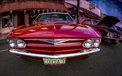 Corsa1 (Steve Walser) Tags: carshows cars classiccars granitefalls hotrods chevy corvair red