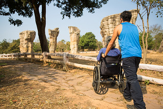 Wheelchair Travel - Mo Hin Khao (Chaiyaphum)