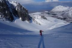 Unterwegs zum Rundfjellet 803m I (Globo Alpin) Tags: lofoten norwegen skitouren winter 2017 skiflugreisen ausland
