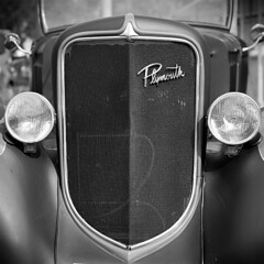 Plymouth Grill (Kustoms On Silver/Ashley Hoff) Tags: kustomkulture kustomkulturesa rockabilly ilford fp4 bronica sqai southaustralia plymouth grill