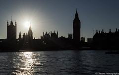 Low Sun over London (Ellacott Photography) Tags: editing lightroom photography nikond3100 westminster london cityscape riverthames river palaceofwestminster lowsun eveningsun