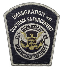ICE Shoulder Patch (Nate_892) Tags: ice immigration customs enforcement federal agent officer patch police dhs homeland security detention removal operations badge