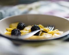 Mango And Blackberries (FezPhotography) Tags: fruit bokeh composition sonyalpha mango blackberries