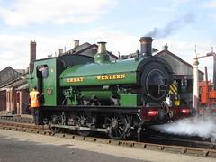 IMG_4831 - GWR Hudswell Clarke Saddle Tank 813 (SVREnthusiast) Tags: didcotrailwaycentre didcot railway centre gwrhudswellclarkesaddletank813 gwr hudswellclarke saddletank 813