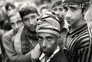 Bangladesh, porters in Mymensingh