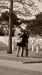 Love to survive (Corinne Lejeune Girot) Tags: beach war normandy cimetière liberté freedom memory memoir souvenir remember plagedébarquement hoc grandcampmaisy lacambe collevillesurmer tombe tomb guerre3945 inmemory donotforget