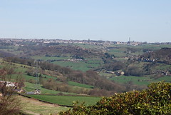 Shibden Valley (Halliwell_Michael ## Thanks you for your visits #) Tags: calderdale westyorkshire nikond40x 2017 spring springtime halifax shibden shibdenvalley queensbury mill millchimney beaconhill landscapes