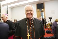 Obchody 90.rocznicy urodzin Benedykta XVI -konferencja, Warszawa, 19 IV 2017 (EpiskopatNews) Tags: episkopatnews abpgądecki ratzinger lombardi