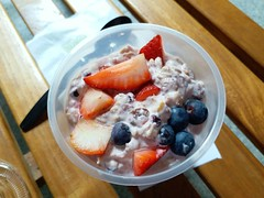 Fruits Muesli (阿Dex) Tags: muesli breakfast fruit strawberry blueberry marche singapore