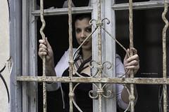 Silvia Sannino - Curvy model (Pasquale D'Anna) Tags: silvia sannino curvy modella model ritratto ticino finestra sbarre