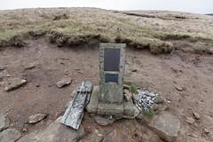 Aircraft crash site - Lancaster KB993, 1945 (1) (Blue Pelican) Tags: aircraft crash 1945 glossop derbyshire jamesthorn lancaster