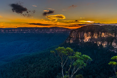 At the going down of the sun (jenni 101) Tags: australia bluemountians katoomba nsw seaustraliatripmarchapril2017 sunset